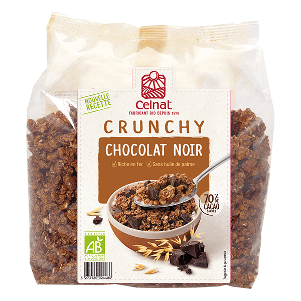 Dark chocolate crunchy