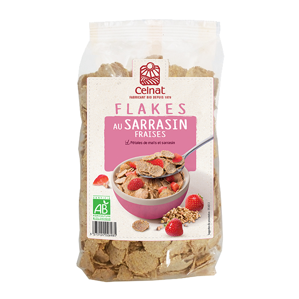 Flakes au Sarrasin Fraises