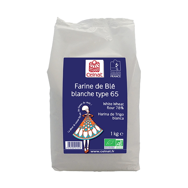 White Wheat Flour 78%