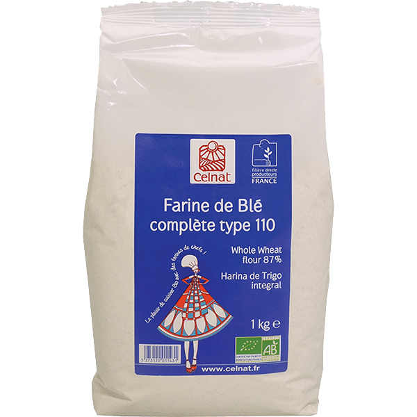 Semi Polished Flour of Ancient Wheat 87%