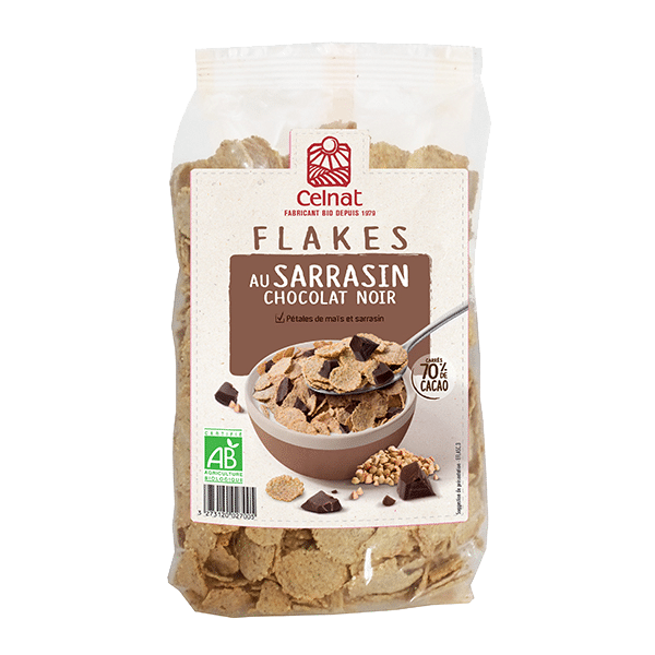 Buckwheat Flakes with Chocolate chunks