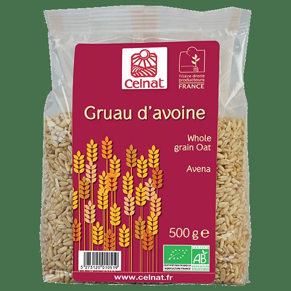 Whole grain oat