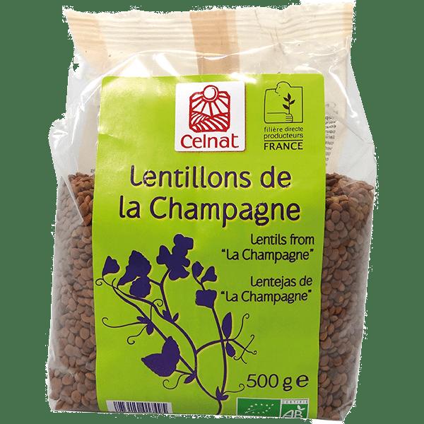 """Champagne"" Lentils"