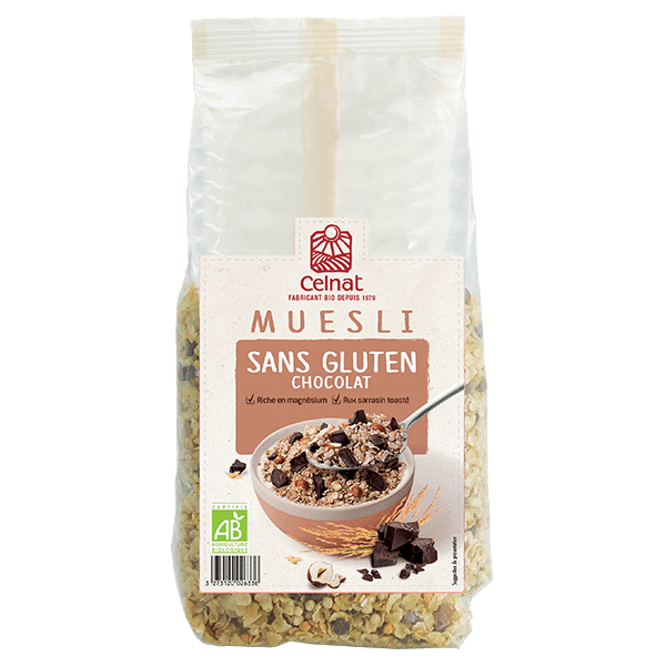 Gluten free muesli with Chocolate