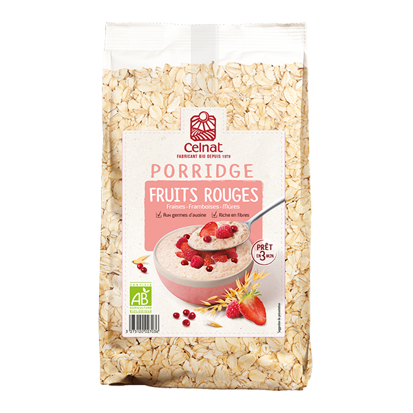 Porridge Fruits Rouges