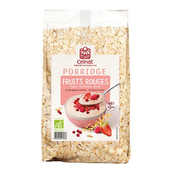Porridge Fruits Rouges