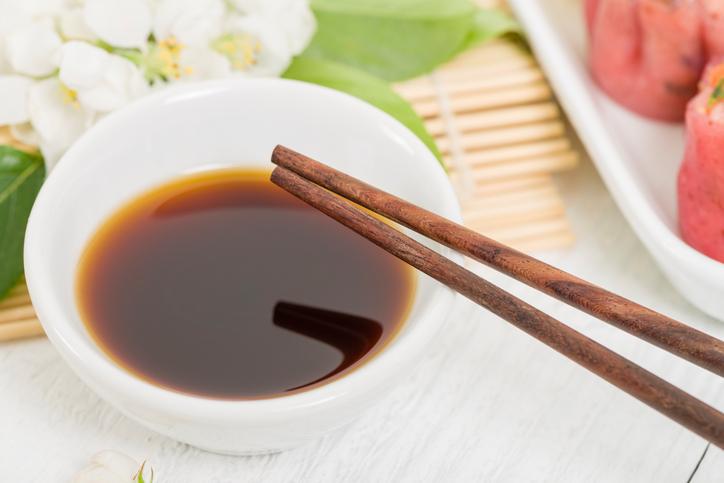 Sauce à sushis au radis noir