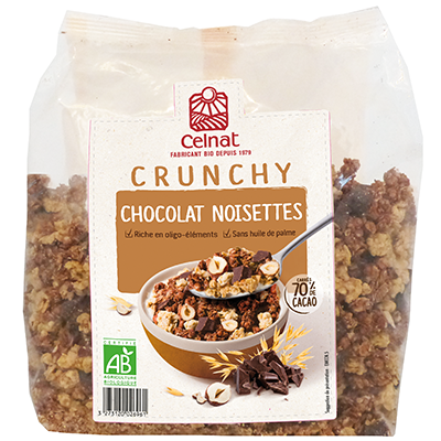 Chocolate & Hazelnuts Crunchy