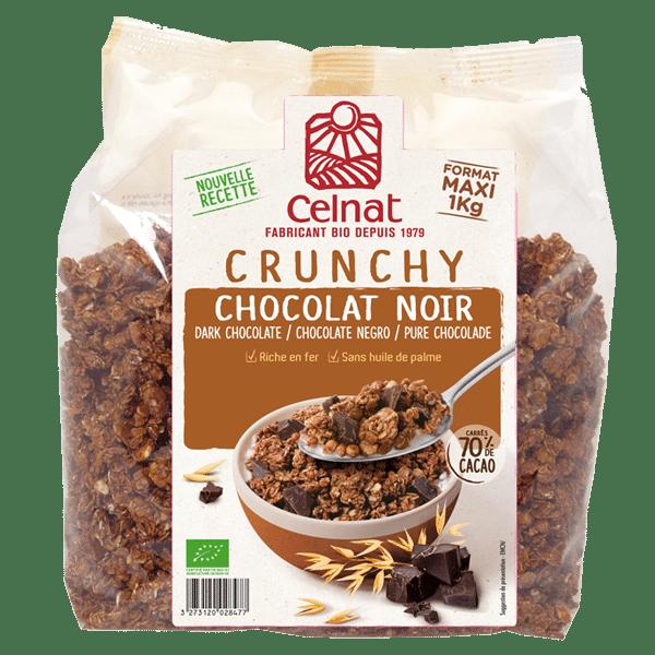 Dark chocolate crunchy 1 Kg