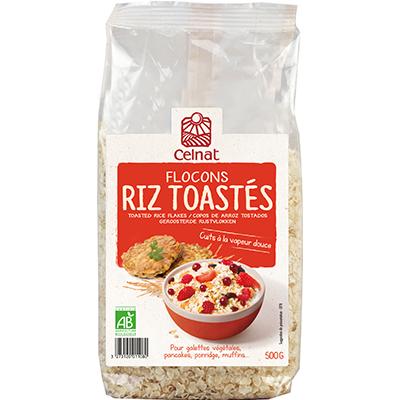 Flocons de Riz Toastés