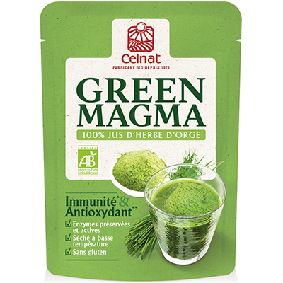 Green Magma 100% Jus d'herbe d'orge