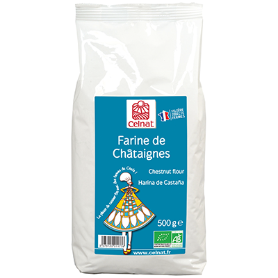 Farine de châtaignes France