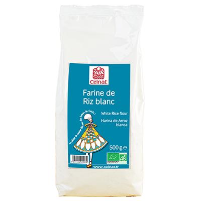 Farine de riz blanc
