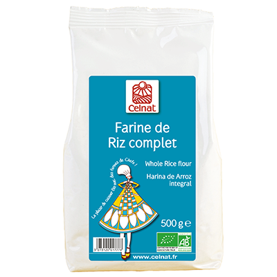 Whole rice flour