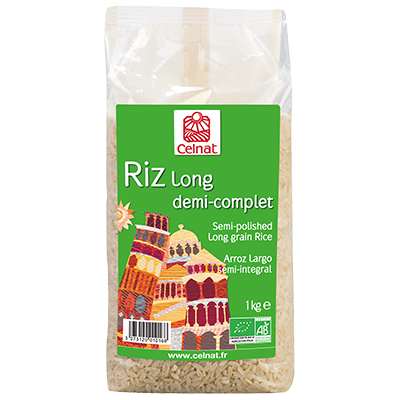 Semi Polished Long Grain Rice