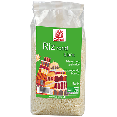 White short grain rice