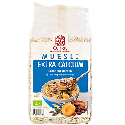 Muesli Extra-calcium 375g