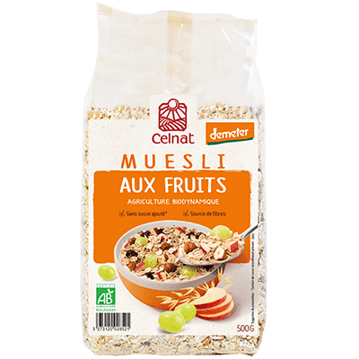 Muesli aux Fruits – Demeter