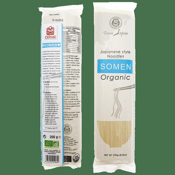 Somen ( Pâtes japonaises au blé dur )