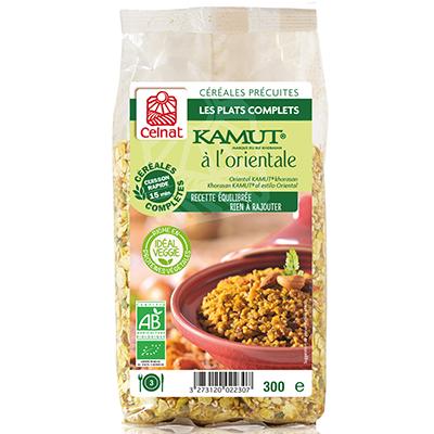 Boulgour de blé KAMUT® à l'orientale – Plat complet