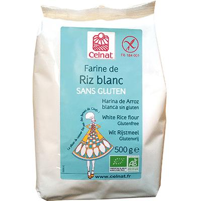 Farine de riz blanc SANS GLUTEN
