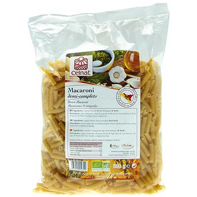 Macaroni demi complets