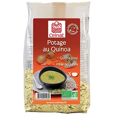 Potage au quinoa