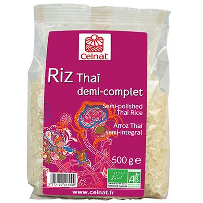 Semi Polished Thai Grain Rcie