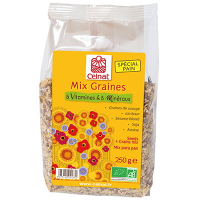 Mix Graines Oméga 3 & vitamine E