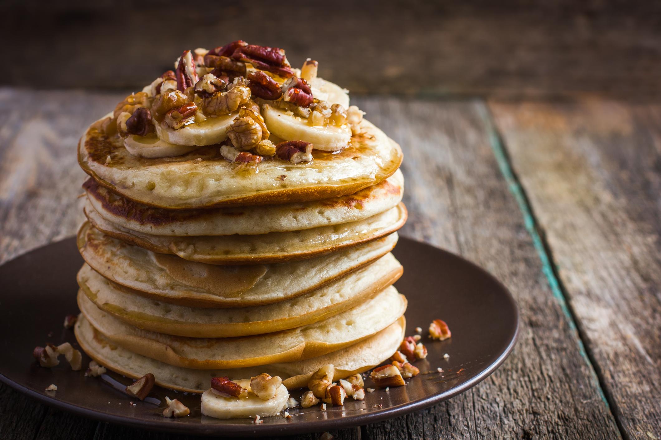 Crêpes soufflées ou pancakes à la farine d'avoine