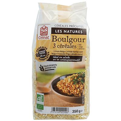 Boulgour 3 céréales