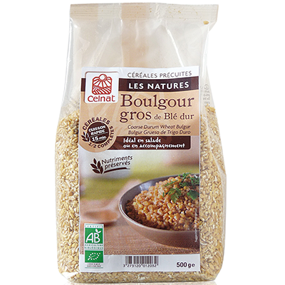 Half Brown Coarse Bulgur
