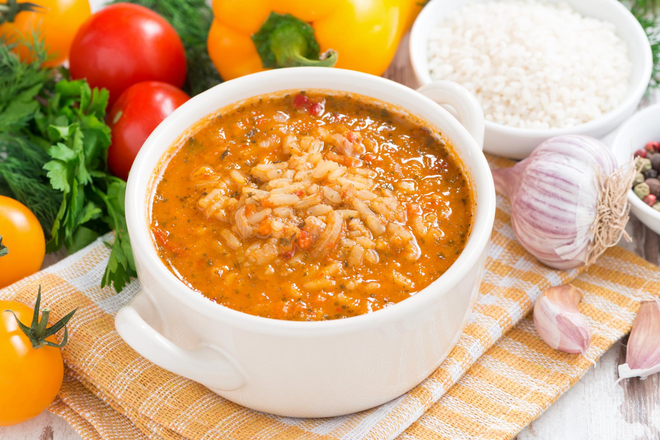 Bouillon de riz