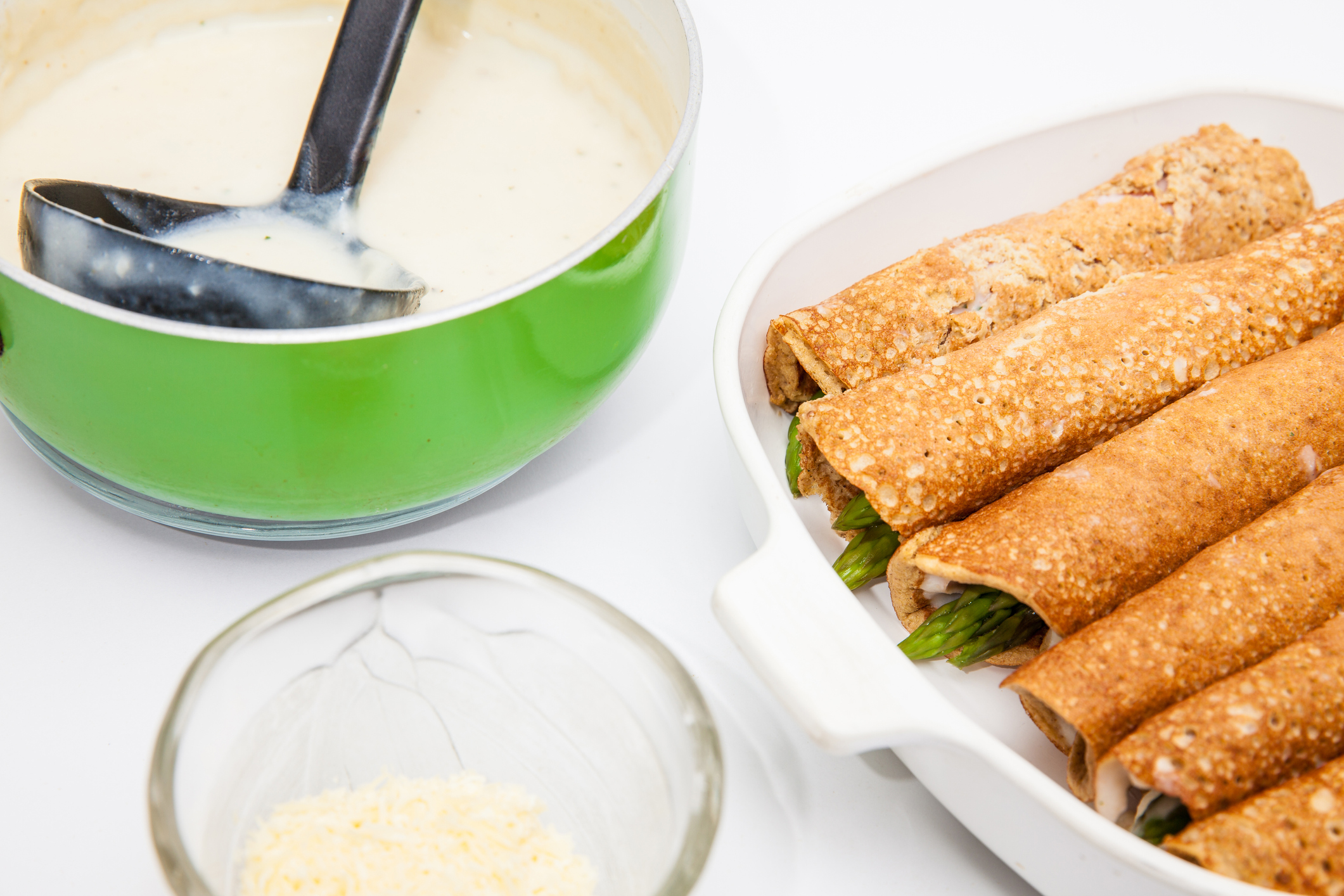 Crêpes à la farine de quinoa