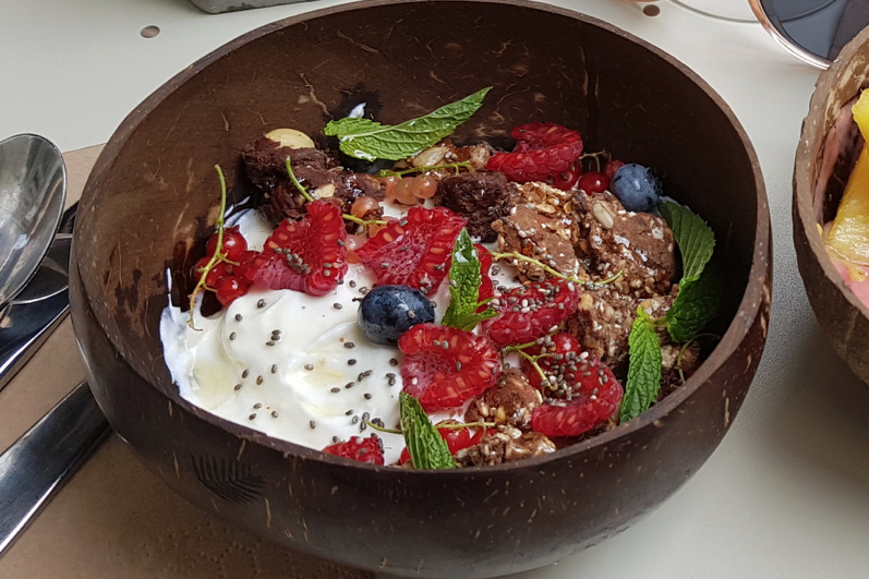 Les recettes de Justin : Granola bowl