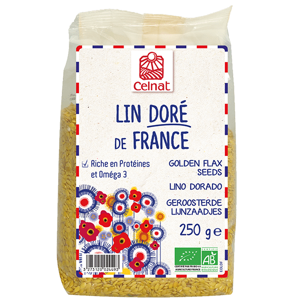 Graines de lin doré de France