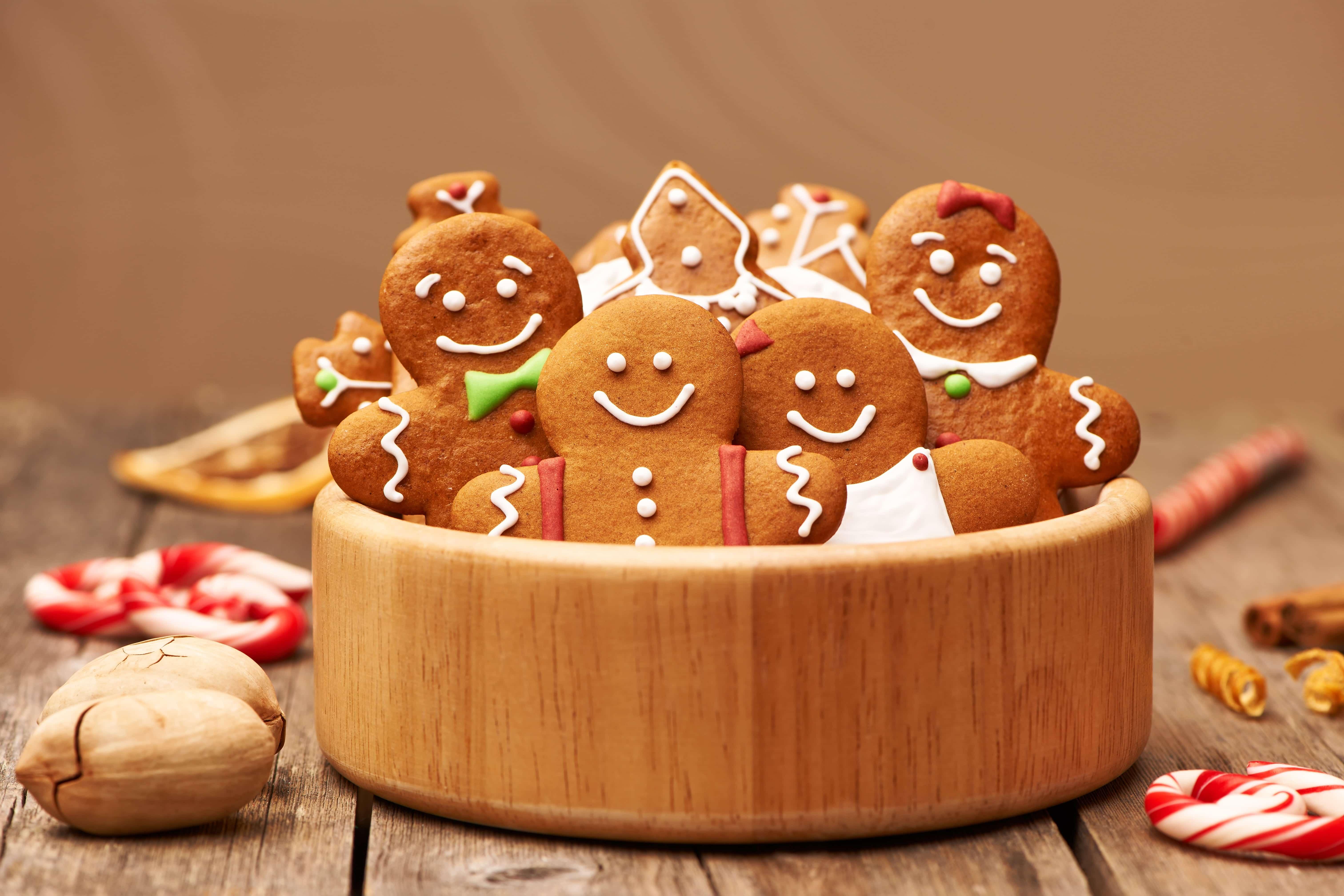 Bonhommes en pain d'épices
