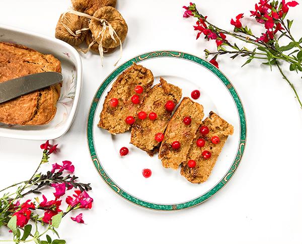 Les recettes de Eve is vegan : gâteau au panais