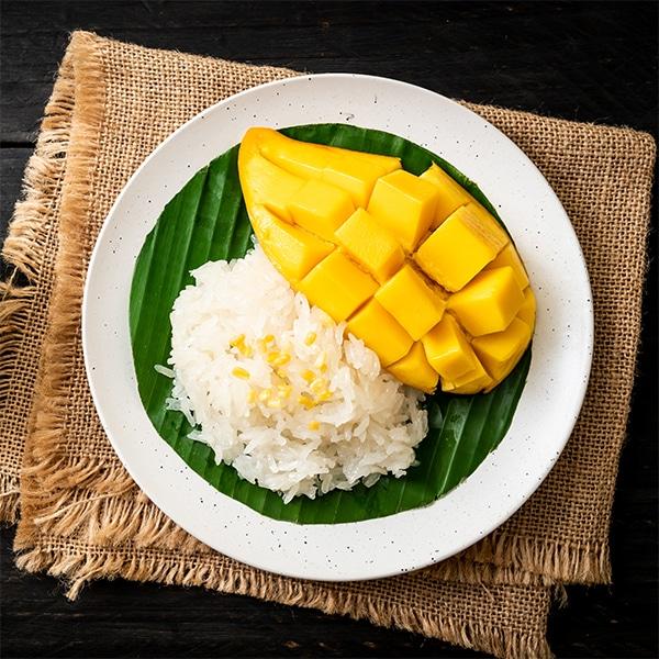 Riz thaï au lait de coco