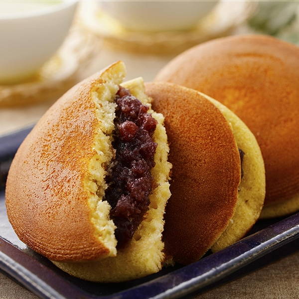 Les recettes de Justin : Pancakes Dorayaki aux flocons azukis