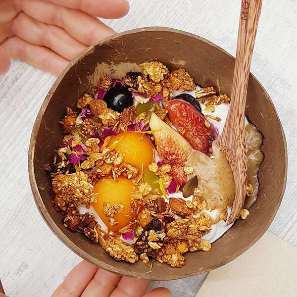 Les recettes de Justin : Granola Bowl aux saveurs du Liban